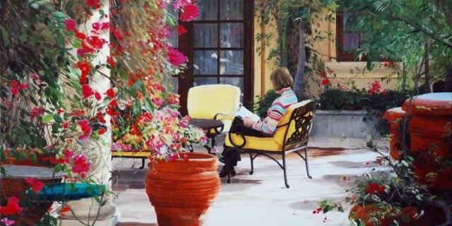 Maureen Sheridan -- The Patio