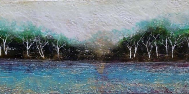 Sarah Hunter -- Lake Birches