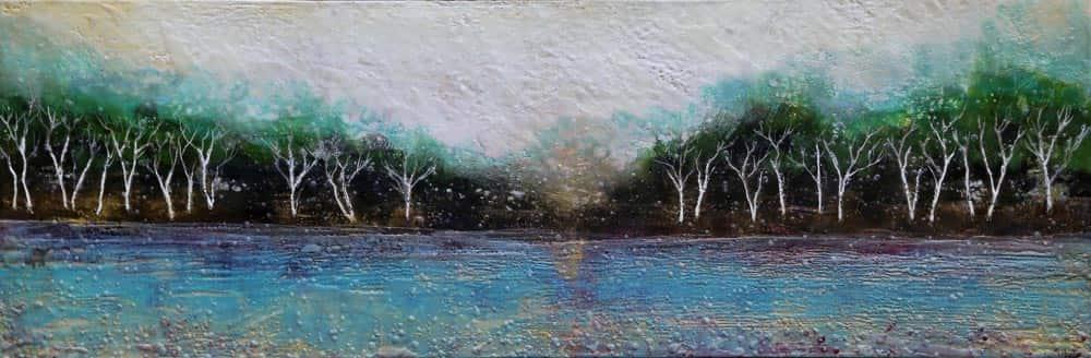 Sarah Hunter -- Lake Birches