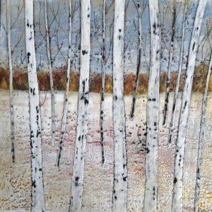 Sarah Hunter -- Paper Birches