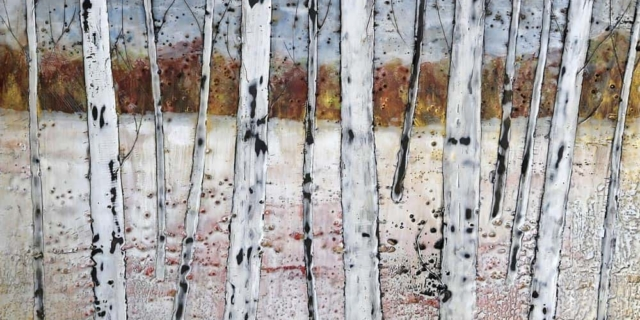 Sarah Hunter -- Paper Birches