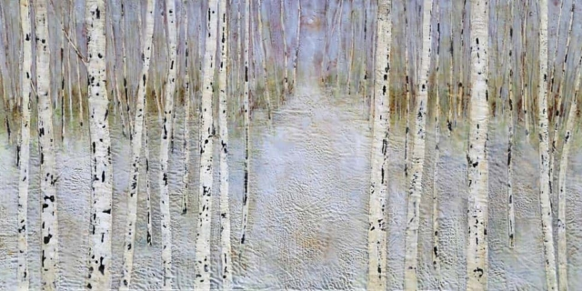 Sarah Hunter -- Through The Paper Birches