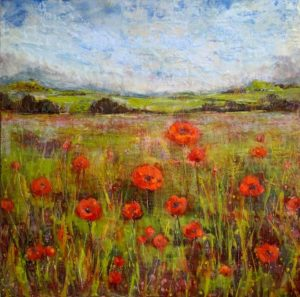 Sarah Hunter--Red Field In View