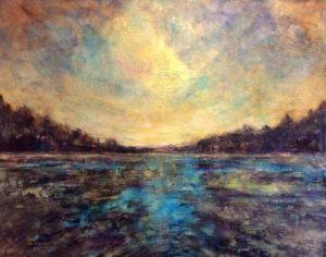 Sarah Hunter--Turquoise Lake