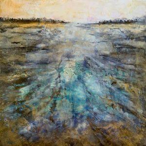 Sarah Hunter--Lustered Lake Revealing