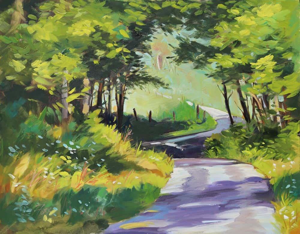 Karen Fox - Road to Bob's Lake