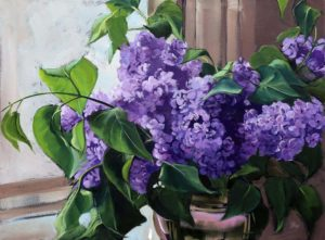 Karen Fox--Lazy Lilacs