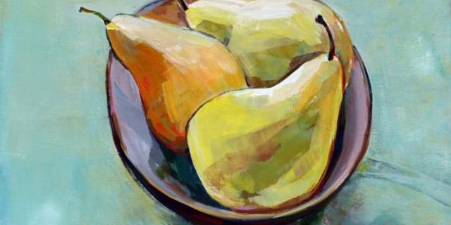 Lori Richards--Bowl Of Fresh Pears