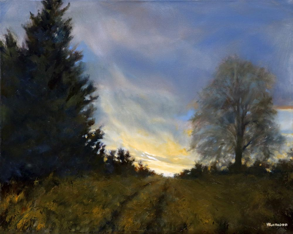 Michael Minthorn--Early April Dusk