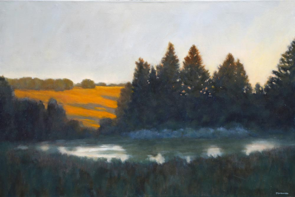 Michael Minthorn--At The Pond Dusk