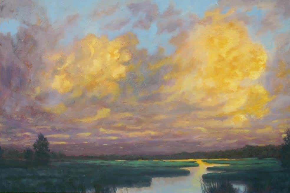 Michael Minthorn -- Cloudy Marsh
