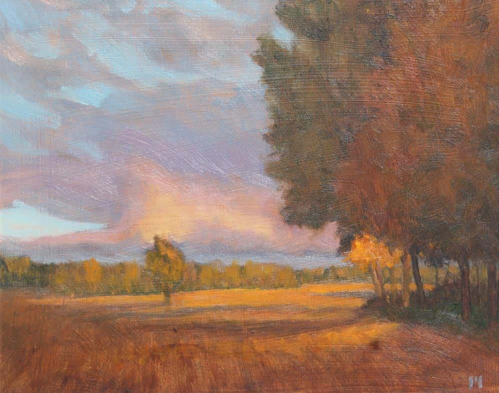 Michael Minthorn -- Fall Field SOLD