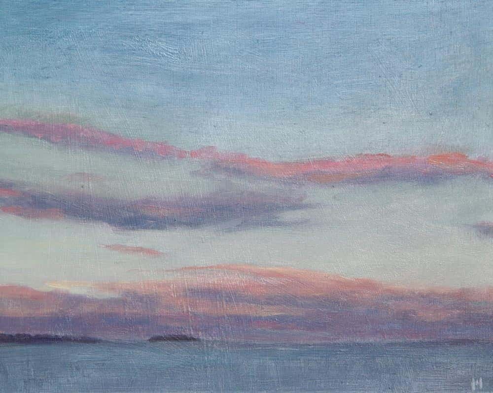 Michael Minthorn -- Lake Sunset