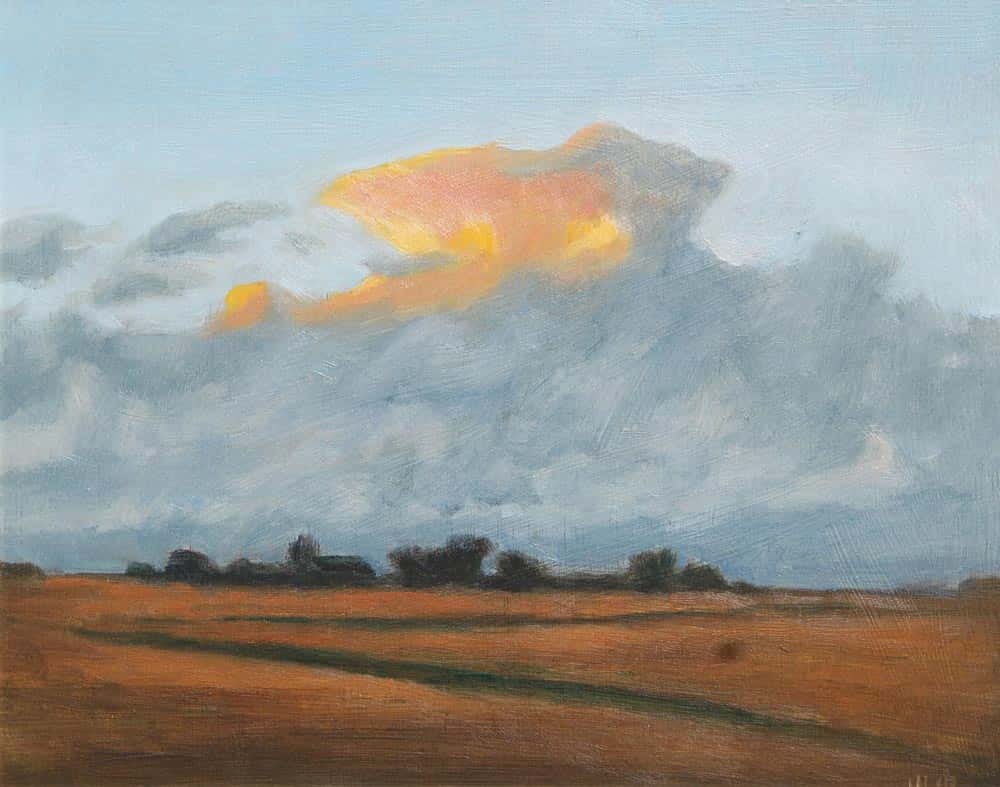 Michael Minthorn -- Looming Clouds
