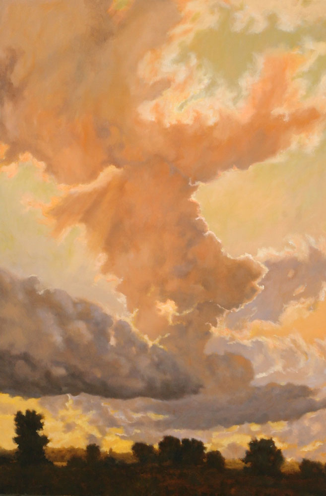 Michael Minthorn -- Towering Clouds