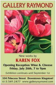 New Works By Karen Fox