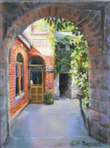 Dale Tucker --Archway To Chez Piggy