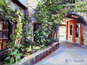 Dale Tucker --Garden Walk To Chez Piggy