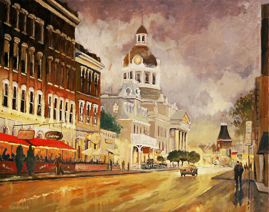 Michael Minthorn--Kingston After The Rain