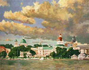 Michael Minthorn--Kingston Before The Storm