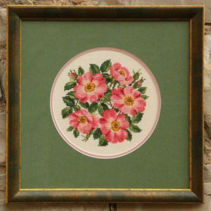 Creative Framing of a needlepoint