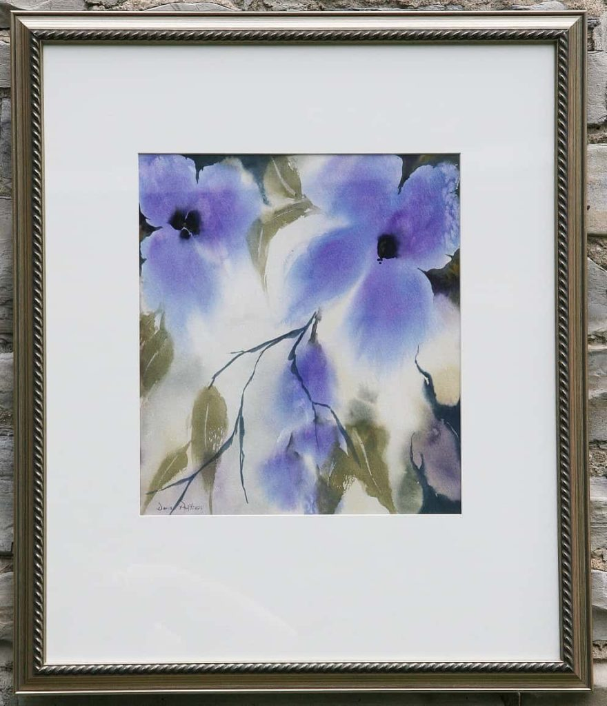 Doris Pontieri--Violet Flowers