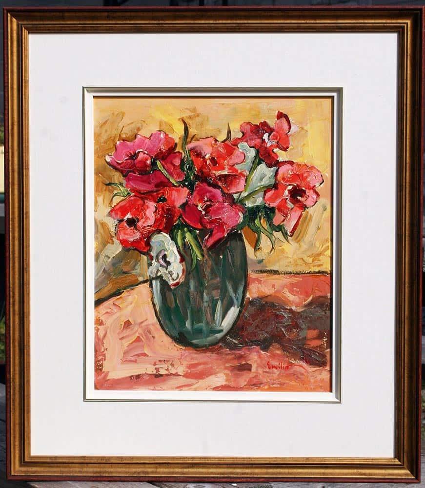 Emilio--Vase of Flowers