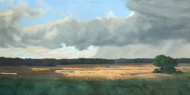 Michael Minthorn -- Spring Over The Marsh