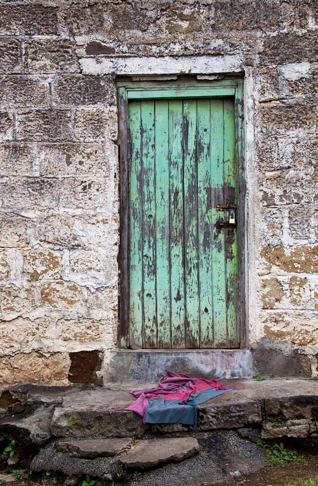 5--Green Door