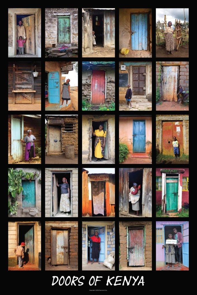 1-Doors Of Kenya 24X36 Poster $40.00