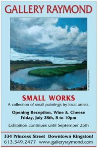 Small Works Show at Gallery Raymond poster
