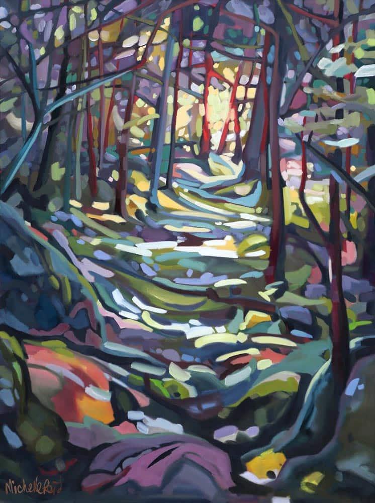 Michelle Reid--Sunlit Path