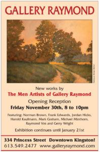 Gallery Raymond presents the Men's Art Show!