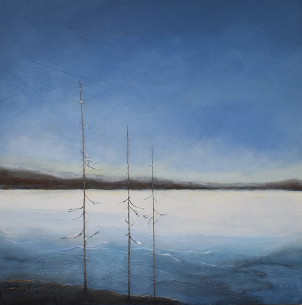 Anita Utas -- Ottawa River in Winter