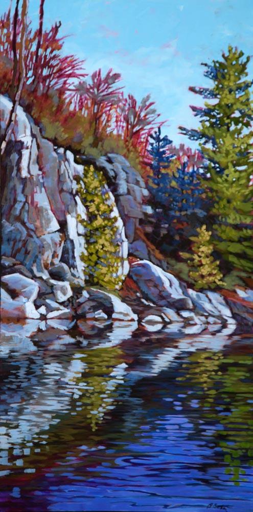 Barb Sohn--Noble Bay Cliffs