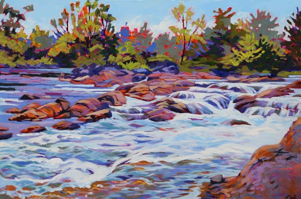 Barb Sohn--Blakeney Rapids #3