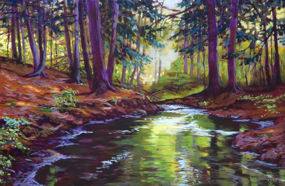 Barb Sohn--Woodland Creek