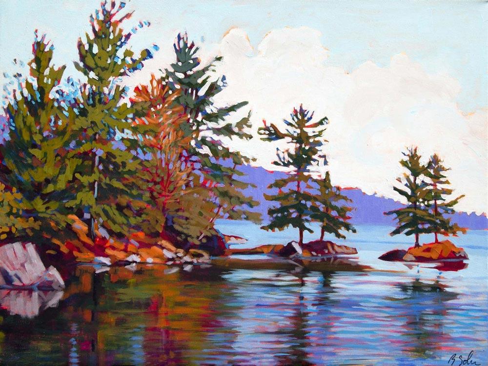 Barb Sohn--Big Rideau Lake, Noble Bay