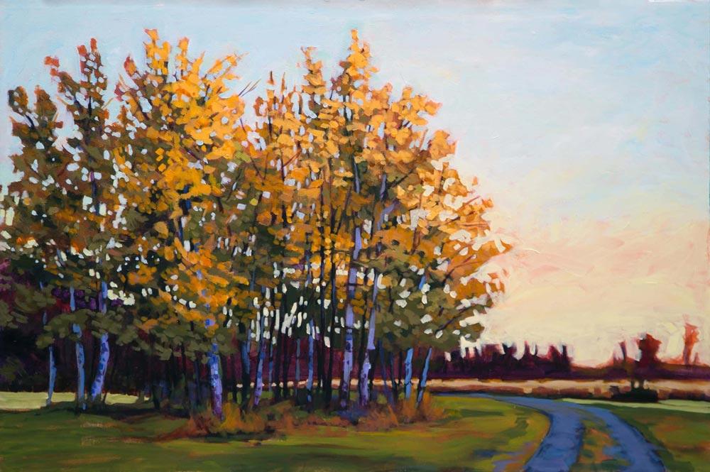 Barb Sohn--Last Duel Poplars