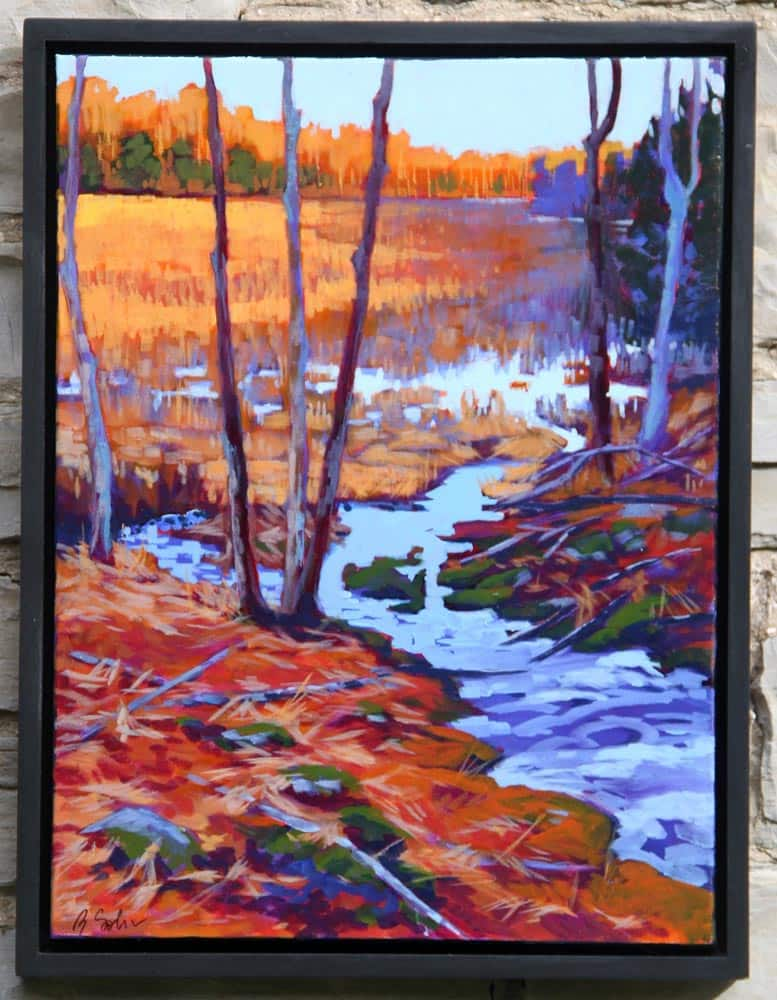 Barb Sohn--Mill Pond Marsh In October