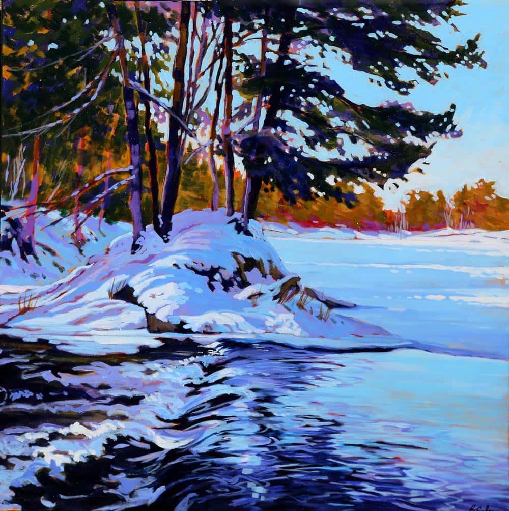 Barb Sohn--Black  Creek Freeze-up