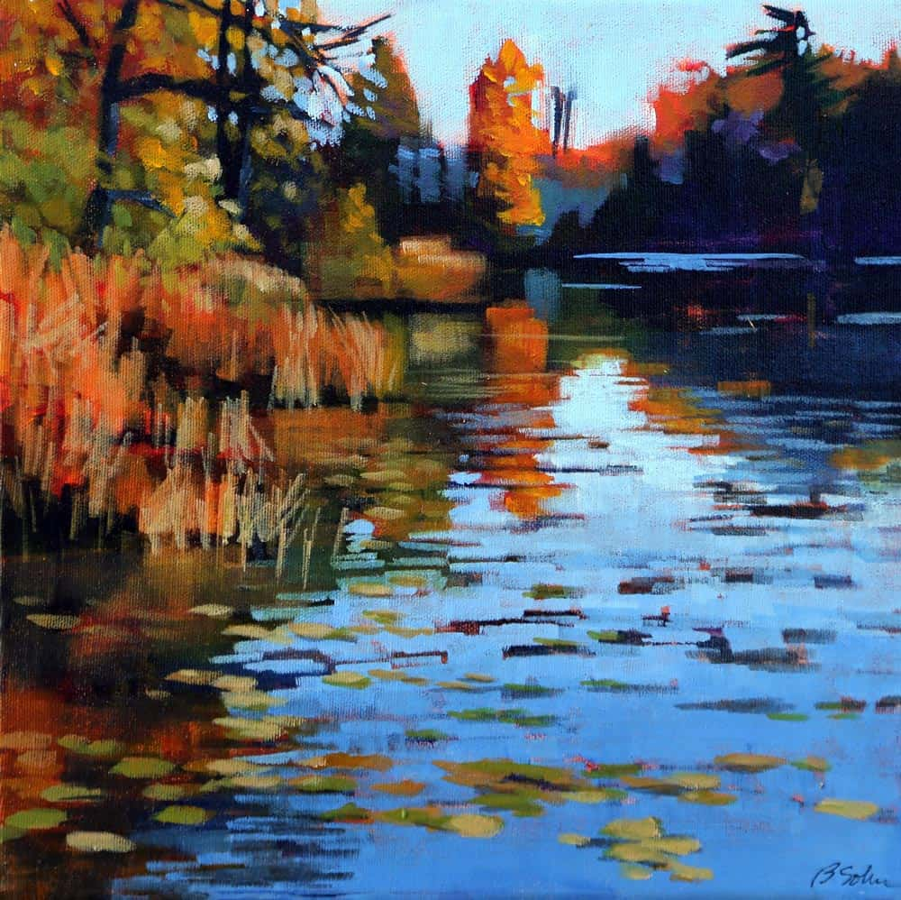 Barb Sohn--Mill Pond October