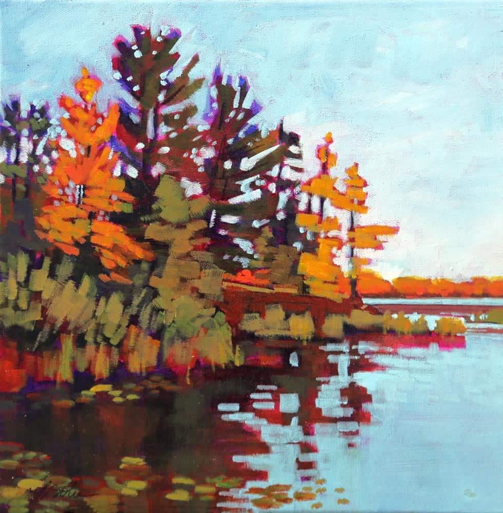 Barb Sohn--Jebb's Creek I (Acrylic 12 X 12) $450 Fr.